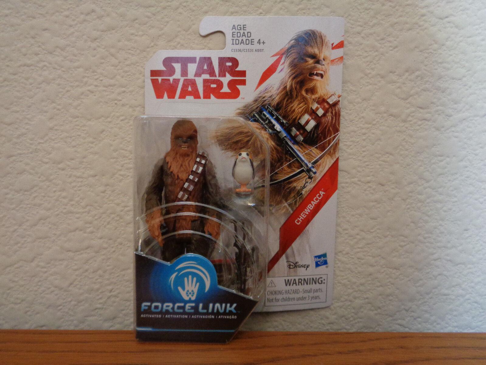 Star Wars Chewbacca w w Chewbacca  Porg Pet Wave 2 Last Jedi Top Variant 3.75 Figure ef1eb7