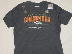 NFL Denver Broncos Super Bowl Nike T-Shirt Large L Youth NWT!  55c85d49a