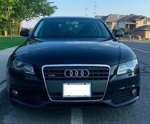 2009 Audi A4 Quattro 2.0T (with extended warranty)