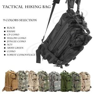30L-Outdoor-Military-Tactical-Camping-Hiking-Trekking-Backpack-Bag-Multi-pocket
