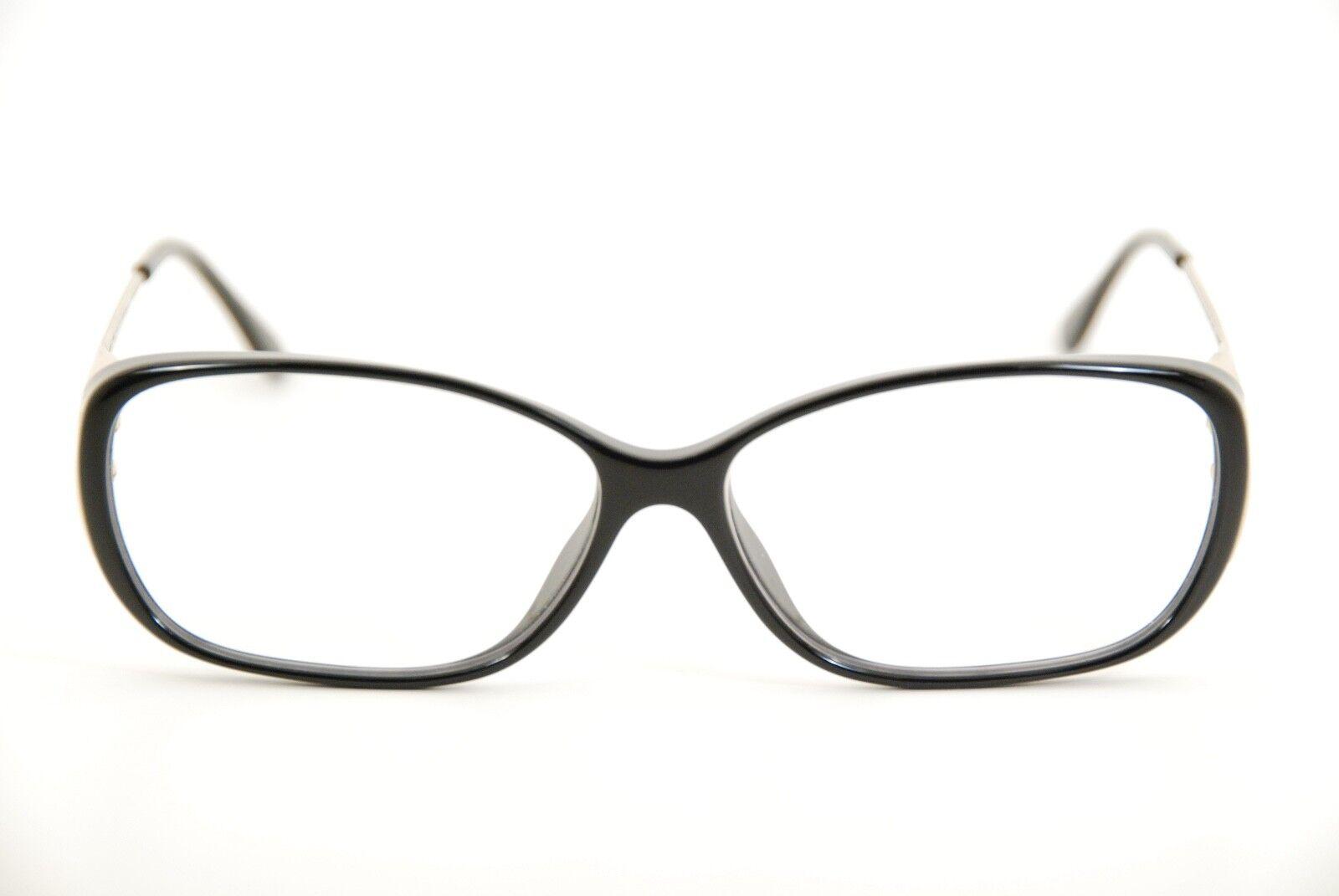 1a20f14fabe Authentic Fendi F 969 001 Black pale Gold 55mm Frames Eyeglasses ...