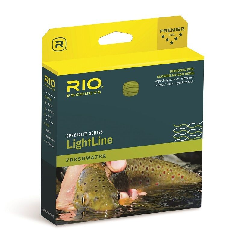 RIO LightLine DT - color Brown   Ivory - DT3F - New