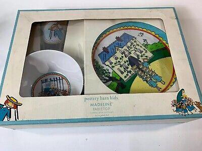 Pottery Barn Kids Madeline Tabletop Gift Plate Bowl