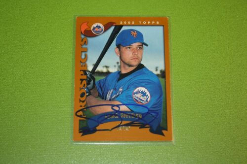 The Smoky CollectionNew York Mets N-Z In Person Autograph AutoYou Pick