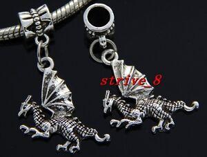 Wholesale 30pcs Tibetan Silver Heart Vrac Lots Dangle Charms Fit Bracelet