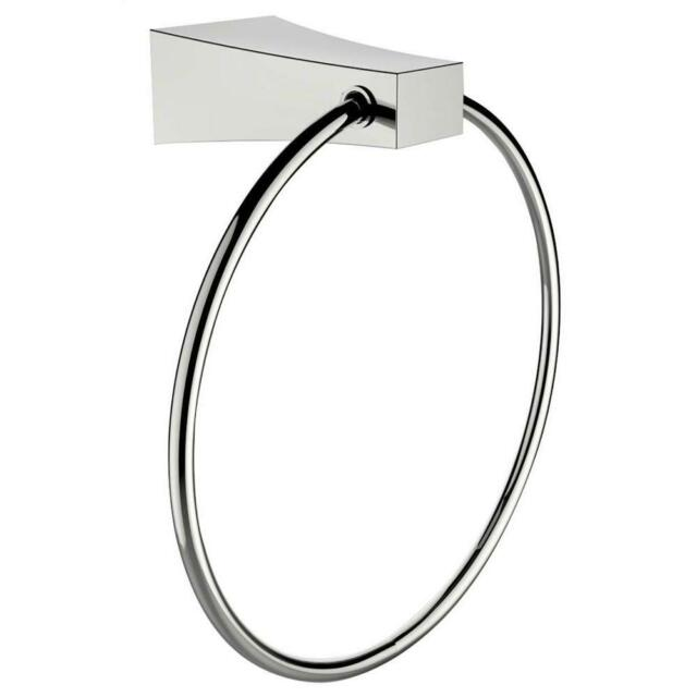 American Imaginations Brass Constructed Towel Ring In Chrome Finish For Sale Online Ebay