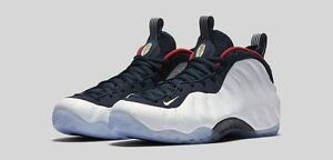 Image is loading 2016-Nike-Air-Foamposite-One-PRM-Olympic-Size-