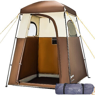 KingCamp Camping Shower Toilet Tent Bath Changing Dressing Room Privacy Portable | eBay