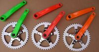 Single Speed Chainset Track Fixed Fixie Urban 44T Steel Crank Bike Bicycle