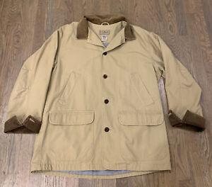 medium tan LL Bean vintage L.L.Bean jacket vintage mens LL Bean jacket