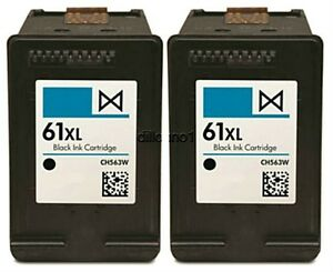2pk-For-HP-61XL-CH563WN-Ink-Cartridges-For-Officejet-2620-4630-4632-4635-8040-80