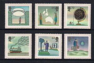 GB-2007-Commemorative-Stamps-World-of-Invention-Unmounted-Mint-Set-UK-Seller