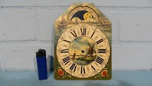DUTCH-CLOCK-SMALL-FRIESIAN-TAIL-OR-SCHIPPERTJE-HANDPAINTED-REPLACEMENT-DIAL-2