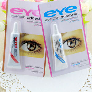 Dark-Black-Clear-Waterproof-False-Eyelashes-Makeup-Adhesive-Eye-Lash-Glue-JT