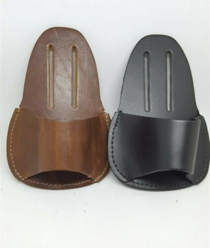 Leather Hammer Belt Loop Holder Sheath Pouch Choice of color