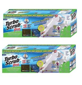 Turbo-Scrub-PRO-Cordless-Rechargeable-Floor-Scrubber-and-Tile-Cleaner-2-PACK