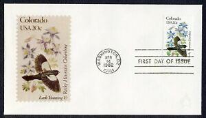 #1958A 20c Colorado, Andrews [111 De 2000] FDC Cualquier 5=