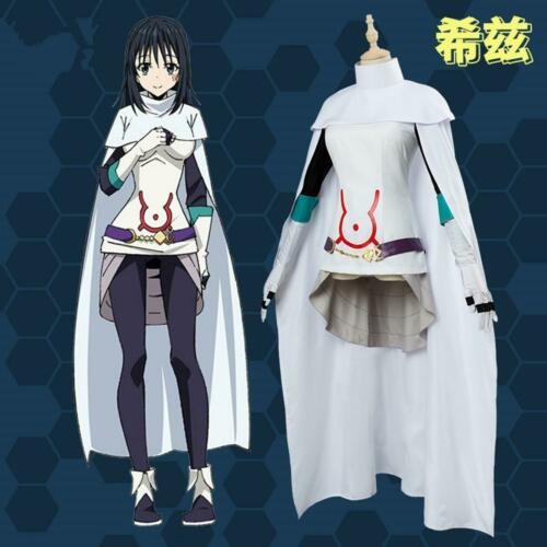 Details about  /Shizu That Time I Got Reincarnated as a Slime Cosplay Costume Dress Cape Outfit