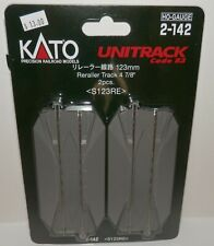 KATO HO gauge Rirera line 123mm 2 pieces 2-142 model railroad supplies