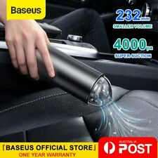 Baseus Wireless Car Vacuum Cleaner 4000Pa Strong Suction Portable Home Office