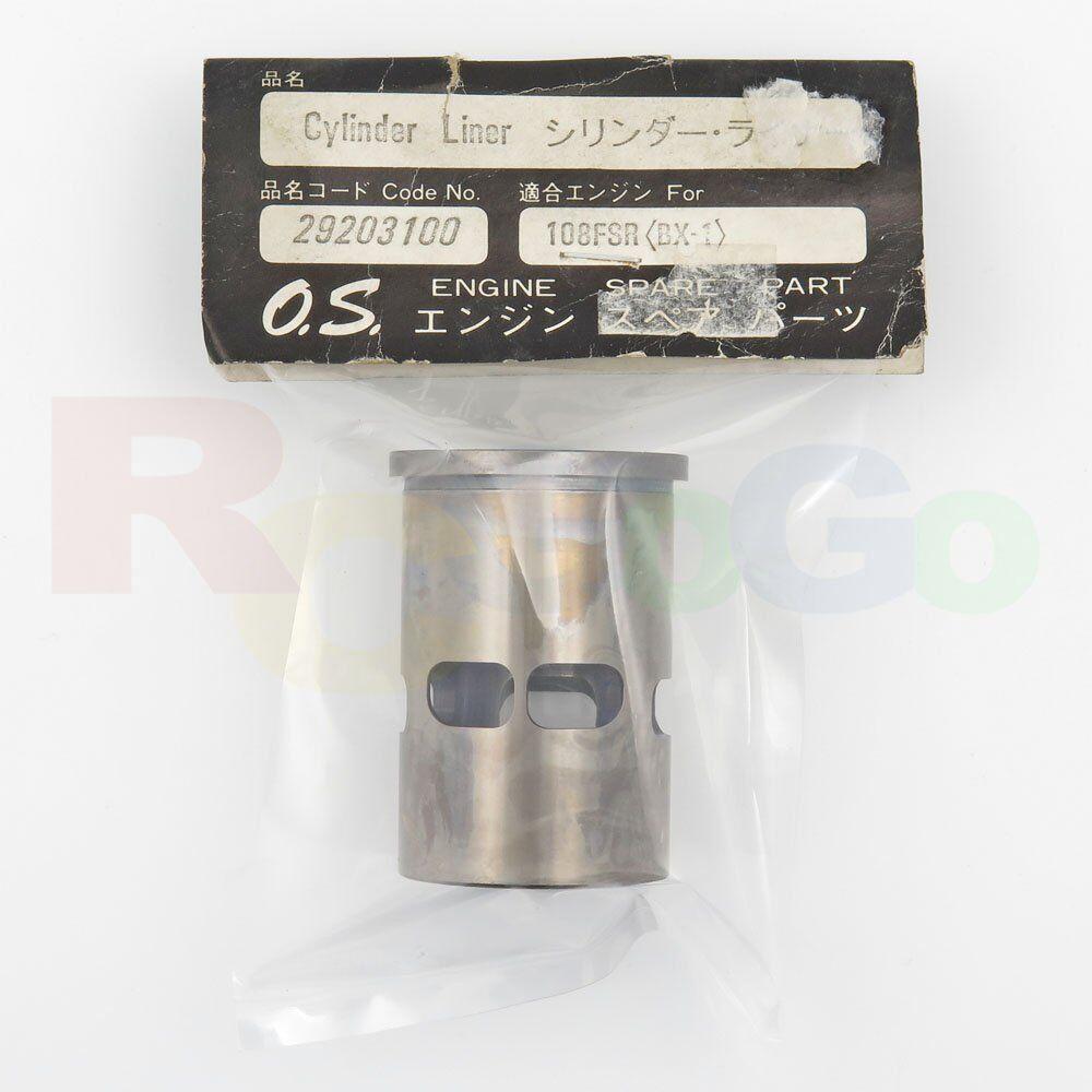 CYLINDER LINER 108FSR (BX-1) OS29203100 O.S. Engines Genuine Parts