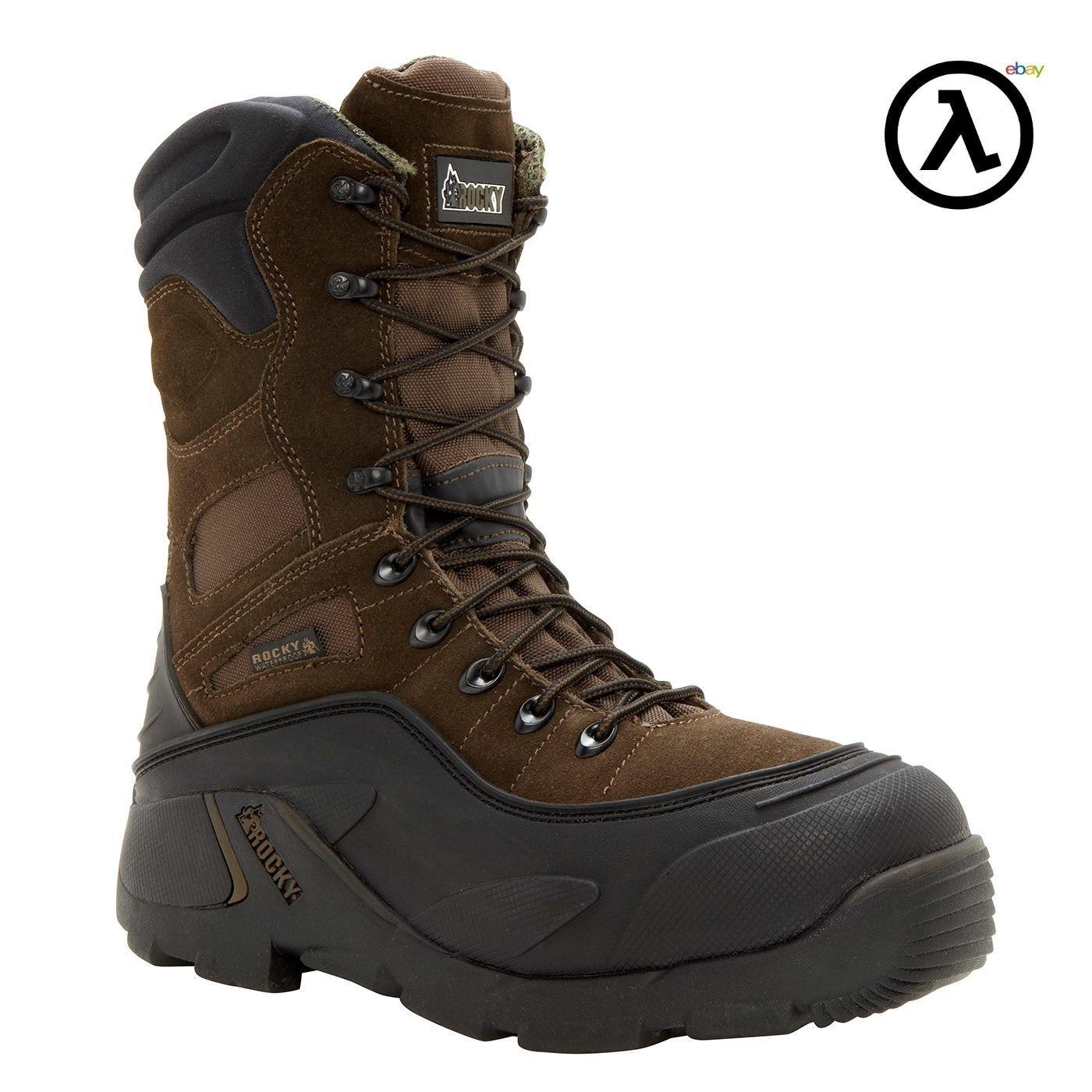 ROCKY BLIZZARDSTALKER ST WTRPF 1200G Aislado botas De Trabajo FQ0007465-todos Los Tamaños