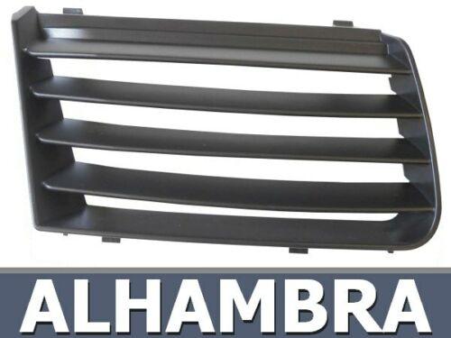 POUR SEAT ALHAMBRA 7M 01-10 DROITE CALANDRE GRILLE DE RADIATEUR PARE-CHOCS