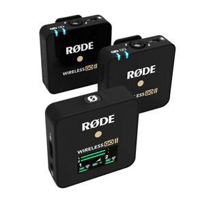Røde Wireless Go II - Digital 2-Kanal Stereo Pack Microphone System Novelty