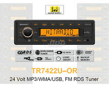 24 Volt LKW Radio RDS-Tuner MP3 WMA USB Truck Bus 24V TR7422U-OR (TR7322U-OR)
