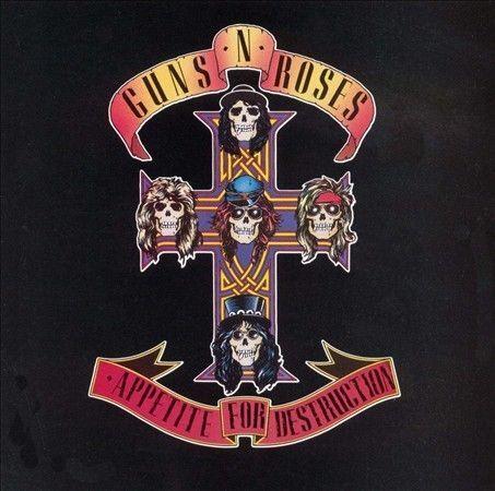 Appetite for Destruction by Guns N' Roses (CD, Oct-1990, Geffen)