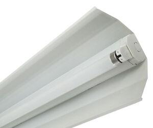 leuchte lichtleiste leuchtstofflampe evg mit reflektor. Black Bedroom Furniture Sets. Home Design Ideas