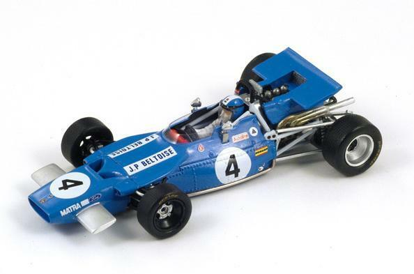 Matra MS 84 JP.Beltoise  GP Great Britain  1969 (Spark 1 43   S1608)