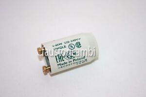 Plafoniere Per Tubi Al Neon : Starter per tubo neon plafoniera tubi fluorescenti watt