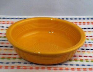Fiestaware-Marigold-Medium-Bowl-Fiesta-Retired-19-oz-Cereal-Bowl