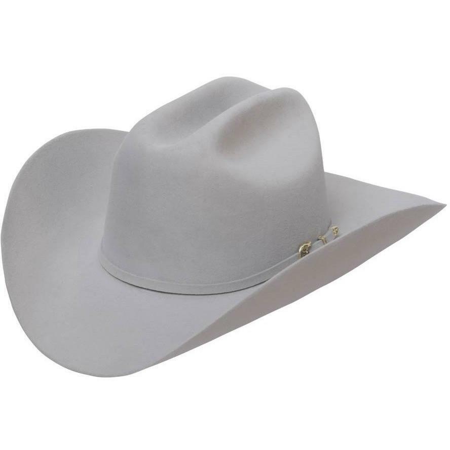 STETSON EMERSON SHOVEL BRIM 6X FUR FELT COWBOY WESTERN HAT