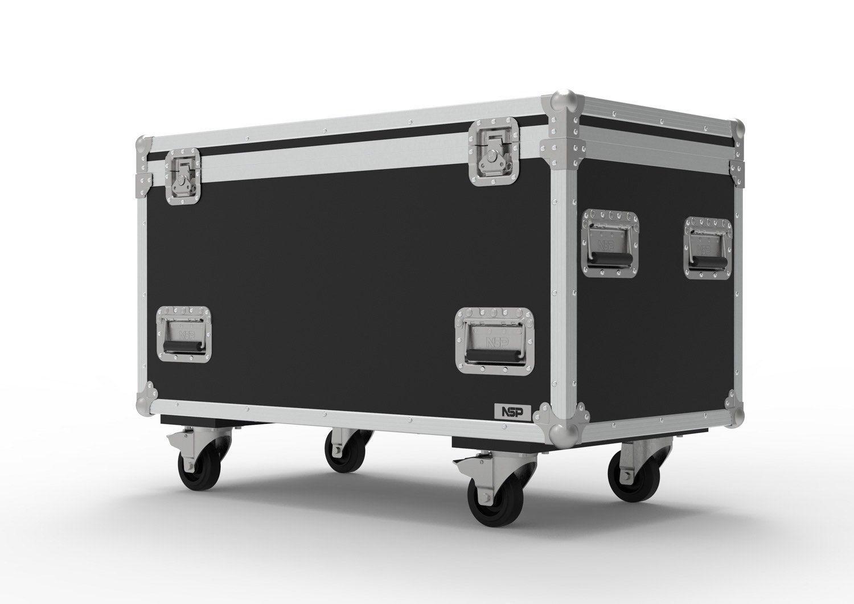 Kofferraum für Straßenkabel, Mehrzweckflugkoffer - 100cmx 50cmx 50cm -