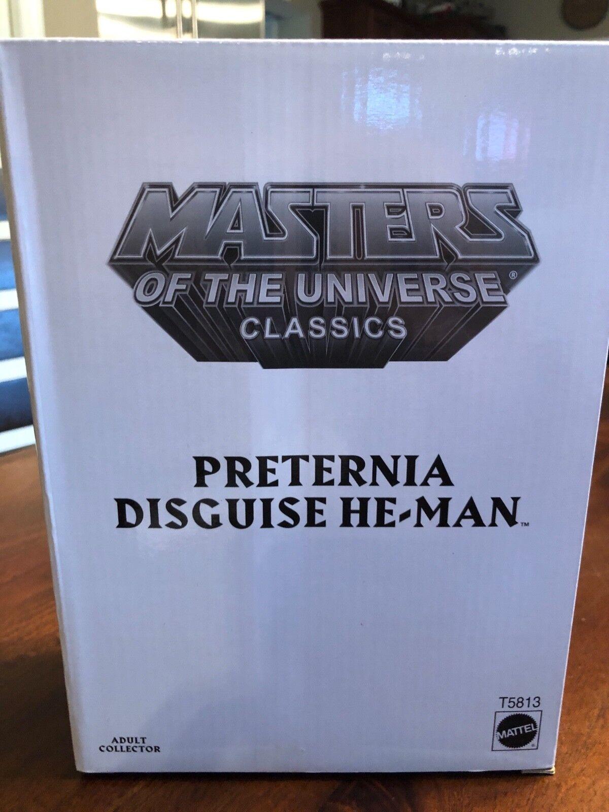 Meister des universums motu preternia verkleidung mann matty sammler mattel se