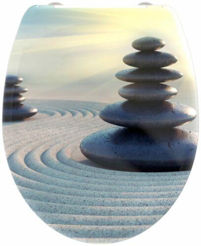welltime WC-Sitz Zen Stones mit Absenkautomatik abnehmbar B88099755 ehemalige...