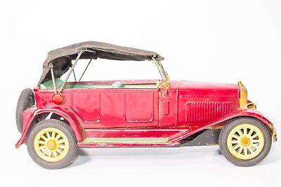 Selbstlos Vintage Japanisch Blech Reibung Sss Shioji 1925 Nash Phaeton Touring Limo GläNzend Spielzeug