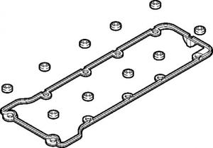 Zylinderkopfhaube für Zylinderkopf ELRING 040.060 Dichtungssatz