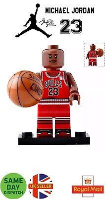 Lebron James Red Mini Figure Basketball Legend Mamba NBA LJ 23 UK Seller
