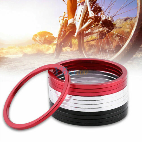 15pcs MTB Bottom Bracket //BB Washer Flywheel Bicycle Spacer Gasket 3 Colors New