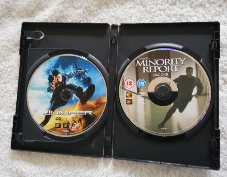 Jumper- Minority Report, DVD, action