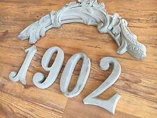 Estuco Corona de decoración 120-347B con 4 Cifras hormigón para Fachada exterior