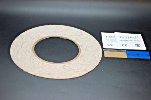 3M 9448HK Paquete de cinta de doble cara para la reparación de teléfono móvil Computadora Tablet