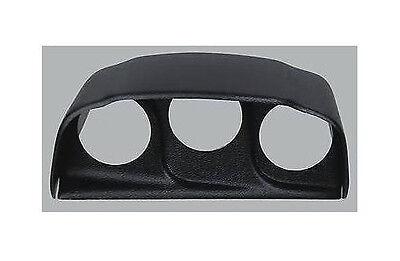 Auto Meter 15021 Black 2-1//16 Triple Console Bezel for 2003-2007 Dodge Ram