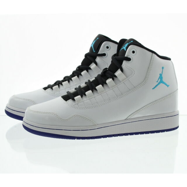best sneakers b9496 3d136 Boys Nike Jordan Executive BG White blue Lagoon Size 6.5y for sale ...