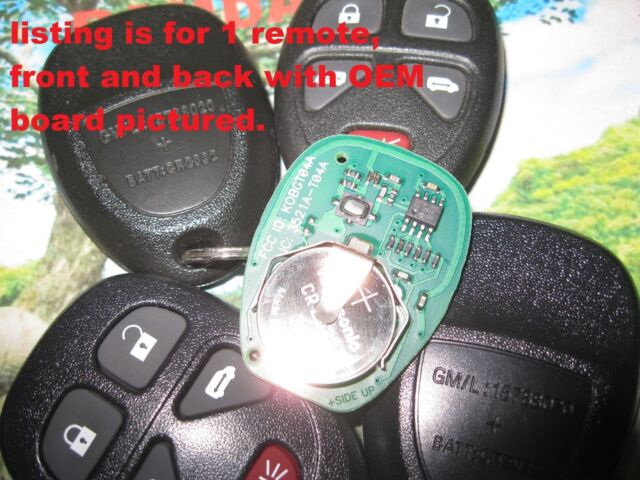 QTY 1 OEM GM 15788020 Remote Keyless Transmitter Fob in UNUSED MINT CONDITION!