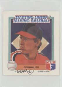 1988 Starting Lineup Talking Baseball Chicago White Sox Greg Walker #13