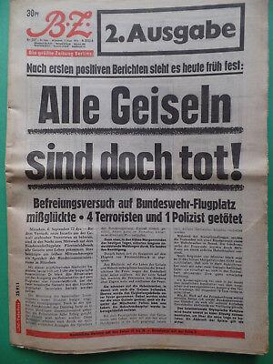 Billiger Preis Attentat Olympia 1972 - Bz 6. September - Alle Geiseln Sind Doch Tot!